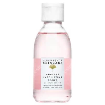 A.Florence Skincare AHA/PHA Exfoliating Toner Złuszczający tonik z 5% kwasem mlekowym i 4% glukonolaktonem 150 ml