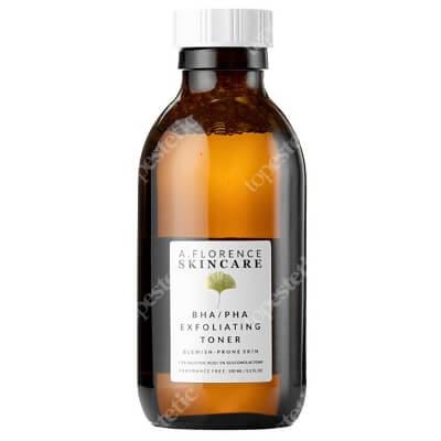 A.Florence Skincare BHA/PHA Exfoliating Toner Złuszczający tonik z 1,5% kwasem salicylowym i 5% glukonolaktonem 150 ml