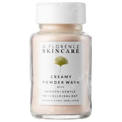 A.Florence Skincare Creamy Powder Wash Jedwabisty puder myjący z ekstraktem z owsa i z pantenolem 100 ml