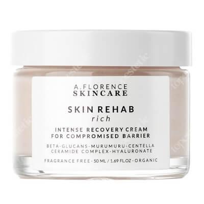 A.Florence Skincare Skin Rehab Rich Cream Krem odżywczy do skóry suchej, wrażliwej, podrażnionej 50 ml