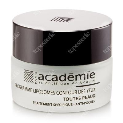 Academie Programme Liposomes Contour Yeux Krem liposomowy na okolice oczu dla skóry wrażliwej 15 ml