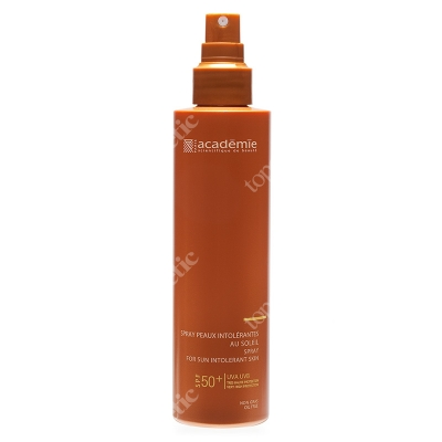 Academie Spray For Sun Intolerant Skin SPF 50+ Spray do ciała dla skóry nietolerującej słońca z filtrem SPF50+ 150 ml