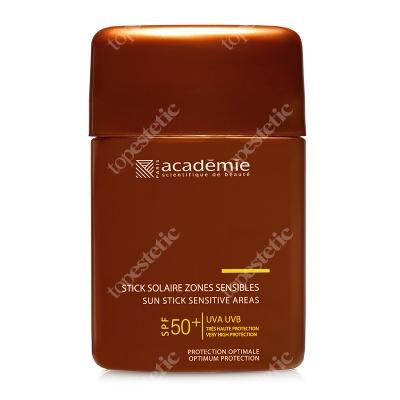 Academie Sun Stick Sensitive Areas SPF 50+ Sztyft do wrażliwych miejsc i na usta SPF50+ 10 ml