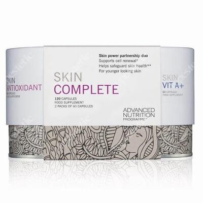 Advanced Nutrition Pr. ANP Skin Complete ZESTAW Witamina A 60 kaps i przeciwutleniacz skóry 60 kaps