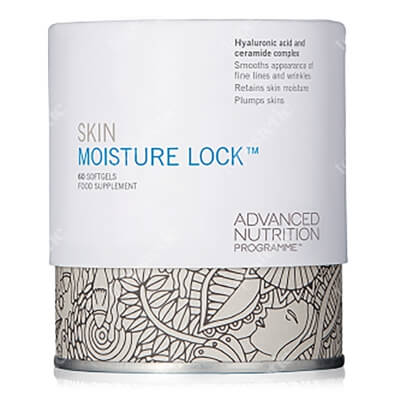 Advanced Nutrition Pr. ANP Skin Moisture Lock Kapsułki z kwasem hialuronowym i ceramidami 60 tabl