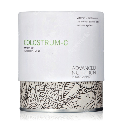 Advanced Nutrition Pr. Colostrum C Witamina C i siara mleka krowiego 60 kaps.