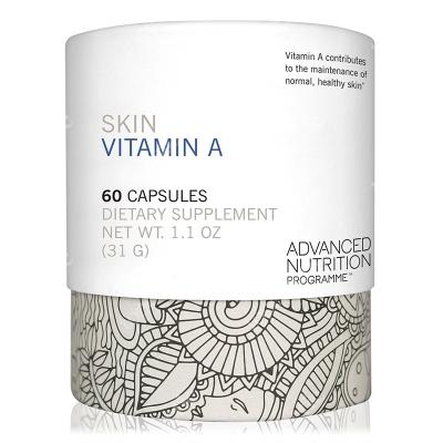 Advanced Nutrition Pr. Skin Vit A + Witamina A dla zdrowej skóry oraz witamina D 60 kaps.