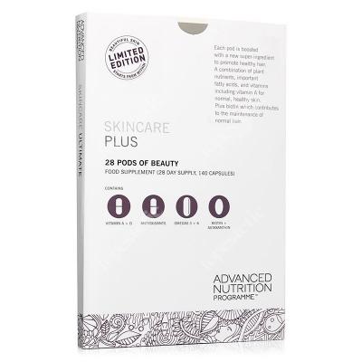 Advanced Nutrition Pr. Skincare Box Plus 4 suplementy dla zdrowej skóry i mocnych włosów 112 kaps.