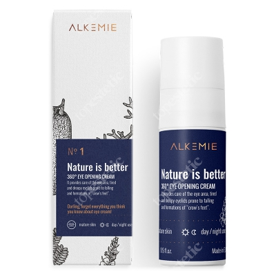 Alkemie Nature is better Krem na okolice oczu 15 ml