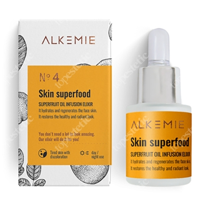 Alkemie Skin Superfood Multiwitaminowy olejek z superowocami 15 ml