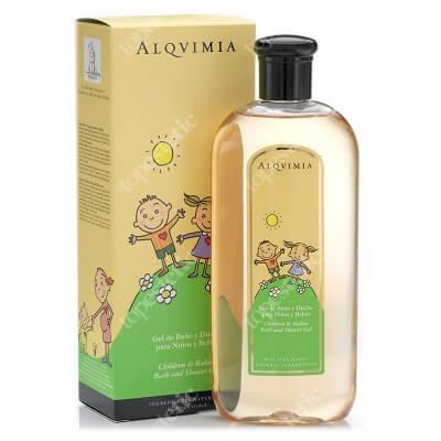 Alqvimia Children and Babies Bath and Shower Gel Żel pod prysznic, dla dzieci i niemowląt 400 ml