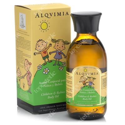 Alqvimia Children and Babies Body Oil Olej do ciała dla dzieci 150 ml