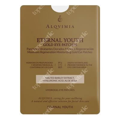 Alqvimia Eternal Youth Gold Eye Patches Złote hydrożelowe płatki pod oczy 1 para
