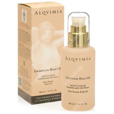 Alqvimia Generous Bust Oil Olej do biustu, wypełniający 100 ml