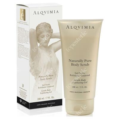Alqvimia Naturally Pure Body Scrub Naturalny peeling do ciała 200 ml