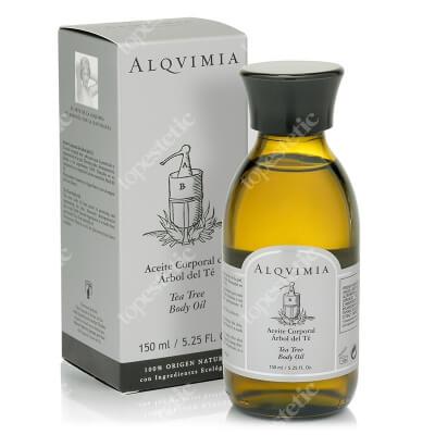 Alqvimia Tea Tree Body Oil Olej do ciała, drzewo herbaciane 150 ml