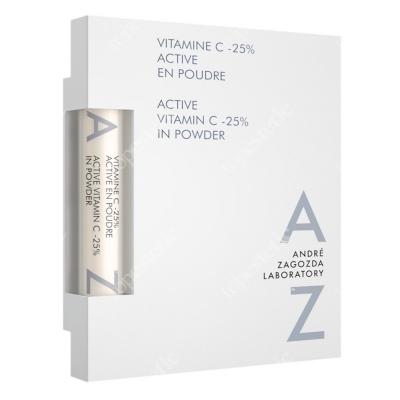 Andre Zagozda Active Vitamin C-25% In Powder Prawdziwy stoper czasu - czysta aktywna witamina C w najwyższej koncentracji 2 g