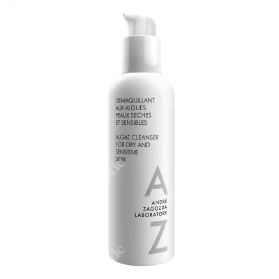 Andre Zagozda Algae Cleanser For Dry And Sensitive Skin Łagodzące mleczko z algami do demakijażu i głębokiego oczyszczania 200 ml