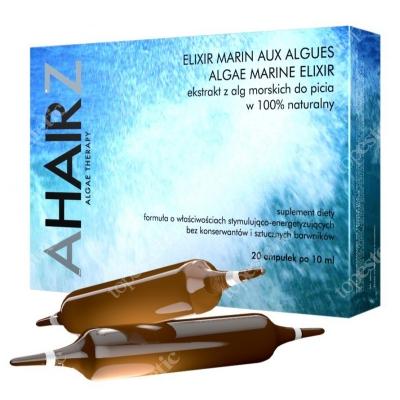 Andre Zagozda Algae Marine Elixir - Diet Ekstrakt z alg morskich do picia 100% naturalny, 20x10 ml