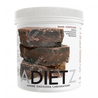 Andre Zagozda AZ Diet Cocktail Chocolate Koktajl o smaku czekoladowym, rozpuszczalny, wzbogacony proteinami 500 g