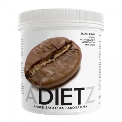 Andre Zagozda AZ Diet Cocktail Coffee Koktajl o smaku kawy, rozpuszczalny, wzbogacony proteinami 500 g