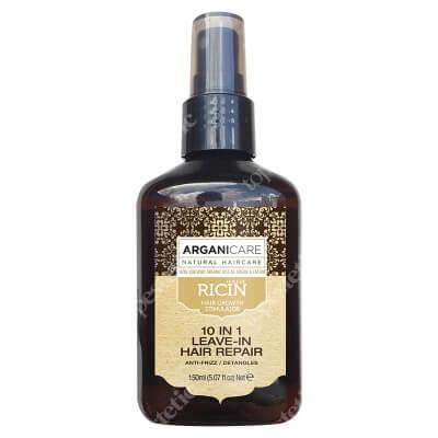Arganicare 10 in 1 Leave In Hair Repair Castor Oil Odżywka 10 w 1 z olejkiem rycynowym 150 ml