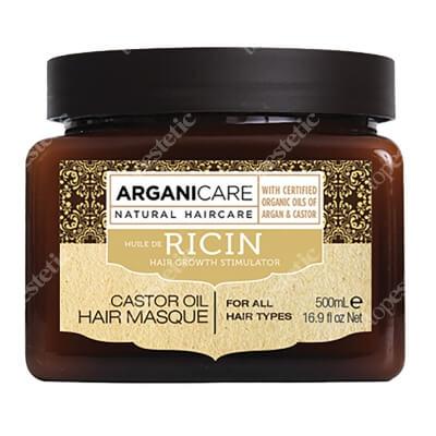 Arganicare Castor Oil Hair Masque Maska stymulująca porost włosów 500 ml