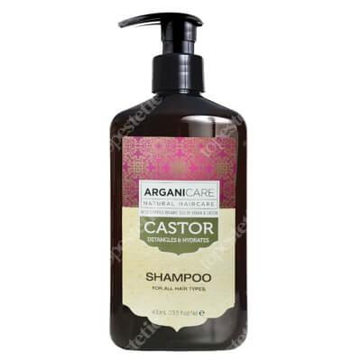 Arganicare Castor Oil Shampoo Szampon stymulujący porost włosów 400 ml