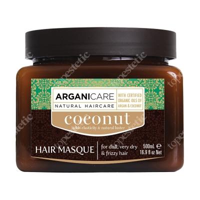 Arganicare Coconut Hair Masque Maska nawilżająca i odżywiająca do suchych i matowych włosów 500 ml