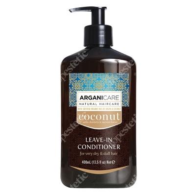 Arganicare Coconut Leave In Conditioner Odżywka bez spłukiwania do bardzo suchych i matowych włosów 400 ml