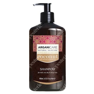 Arganicare Coconut Shampoo Szampon do bardzo suchych włosów z efektem puszenia 400 ml