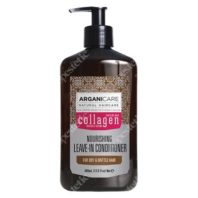 Arganicare Collagen Nourishing Leave In Conditioner Odżywka bez spłukiwania do suchych i łamliwych włosów 400 ml
