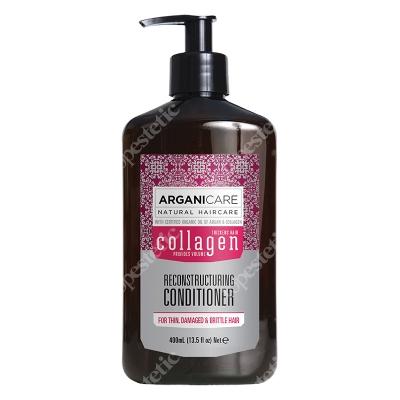 Arganicare Collagen Reconstructuring Conditioner Odżywka odbudowująca do cienkich włosów 400 ml