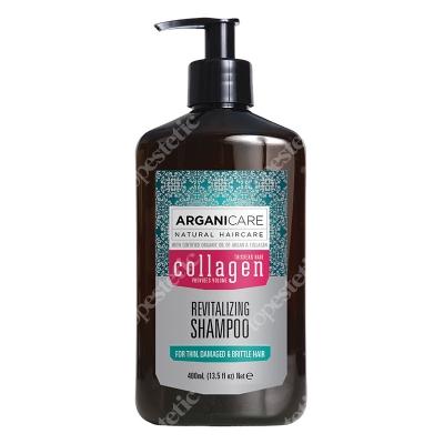 Arganicare Collagen Revitalizing Shampoo Szampon rewitalizujący do cienkich włosów 400 ml