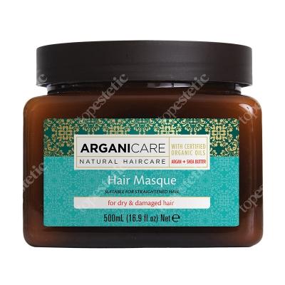 Arganicare Hair Masque For Dry Hair Maska suchych i zniszczonych włosów z masłem Shea 500 ml