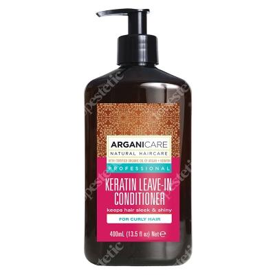 Arganicare Keratin Leave In Conditioner Curly Hair Odżywka bez spłukiwania do kręconych włosów z keratyną400 ml