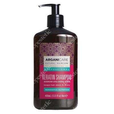 Arganicare Keratin Shampoo Szampon do włosów z keratyna400 ml