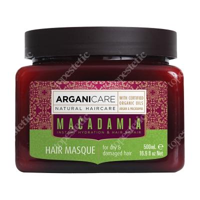 Arganicare Macadamia Hair Masque Maska nawilżająca do suchych i zniszczonych włosów 500 ml