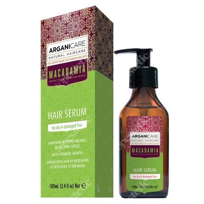 Arganicare Macadamia Hair Serum Serum do suchych i zniszczonych włosów 100 ml
