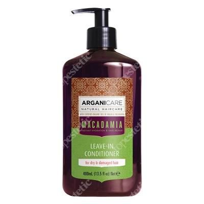 Arganicare Macadamia Leave In Conditioner Dry Hair Odżywka bez spłukiwania do suchych i zniszczonych włosów 400 ml
