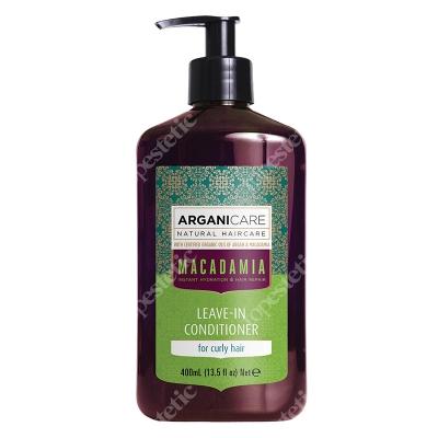 Arganicare Macadamia Leave In Conditioner Odżywka bez spłukiwania do kręconych włosów 400 ml