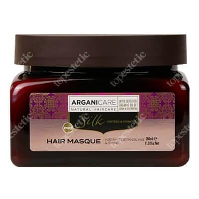 Arganicare Silk Hair Masque Maska rozplątująca włosy z jedwabiem 350 ml