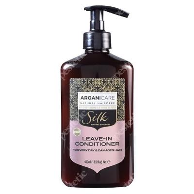 Arganicare Silk Leave In Conditioner For Very Dry Hair Odżywka bez spłukiwania do suchych i zniszczonych włosów z jedwabiem 400 ml