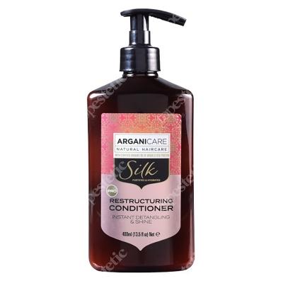 Arganicare Silk Restructuring Conditioner Odżywka z jedwabiem rozplątująca włosy 400 ml