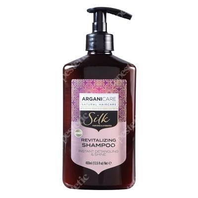 Arganicare Silk Revitalizing Shampoo Szampon z jedwabiem, rozplątujący włosy 400 ml