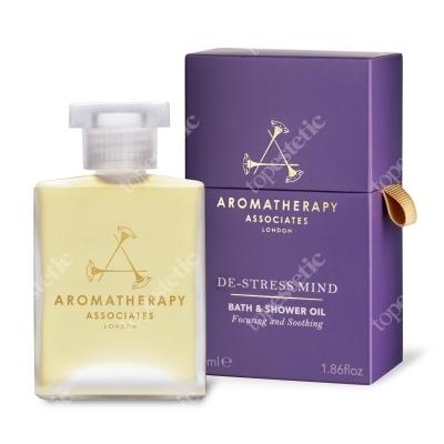 Aromatherapy Associates De-Stress Mind Bath & Shower Oil Odstresowujący olejek do kąpieli i pod prysznic 55 ml