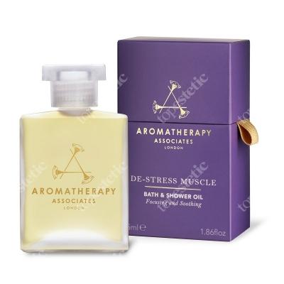 Aromatherapy Associates De-Stress Muscle Bath & Shower Oil Odprężający mięśnie olejek do kąpieli 55 ml