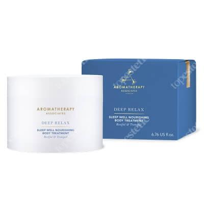 Aromatherapy Associates Deep Relax Sleep Well Nourishing Body Treatment Odżywczy balsam do ciała na dobry sen 200 ml