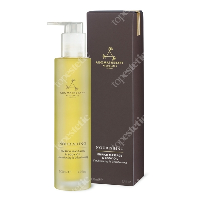 Aromatherapy Associates Nourishing Enrich Massage & Body Oil Odżywczy olejek do ciała 100 ml