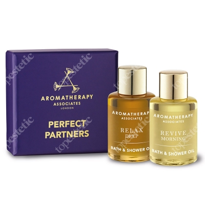 Aromatherapy Associates Perfect Partners ZESTAW dwóch olejków do kąpieli 2 x 9 ml